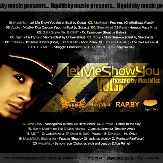 Let Me Show You vol.10, hosted by MaxiMist